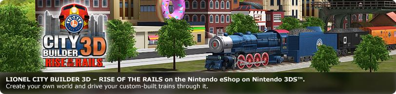 Lionel City Builder 3D: Rise of the Rails | Big John Games
